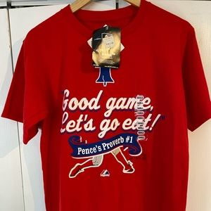 Majestic Phillies 'Good Game, Let's Go Eat!' Small